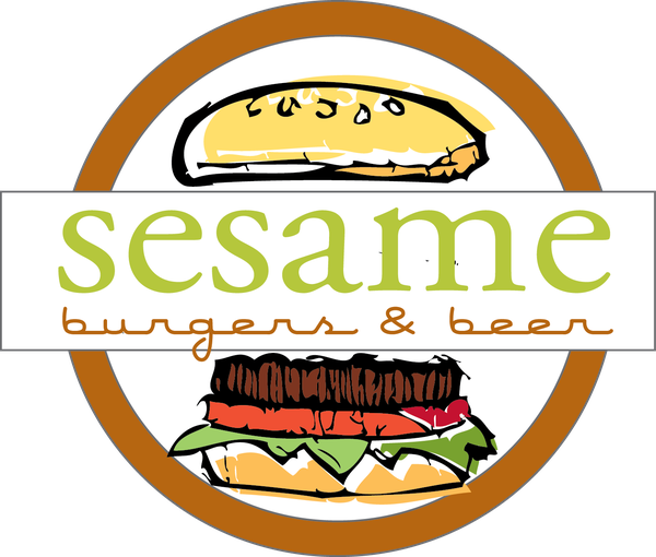 Sesame Burgers and Beer