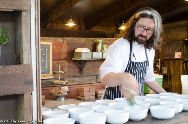Executive Chef Steve Dustin