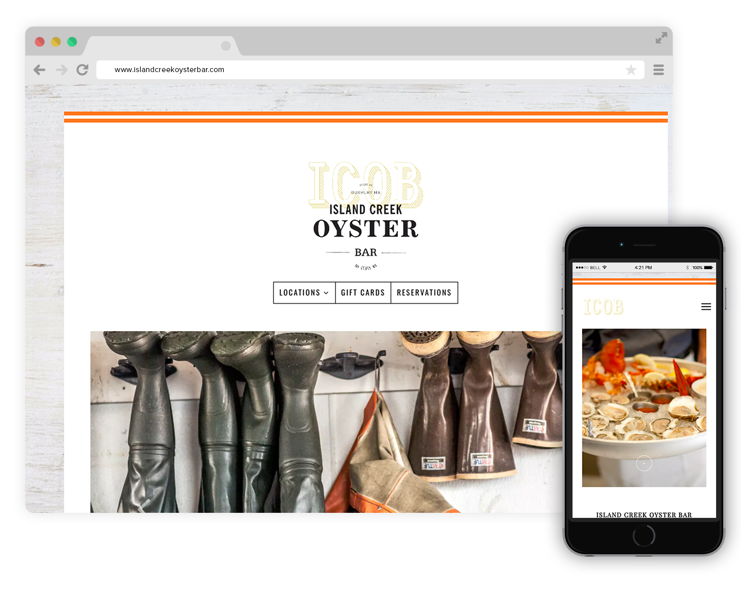 island creek oyster bar website