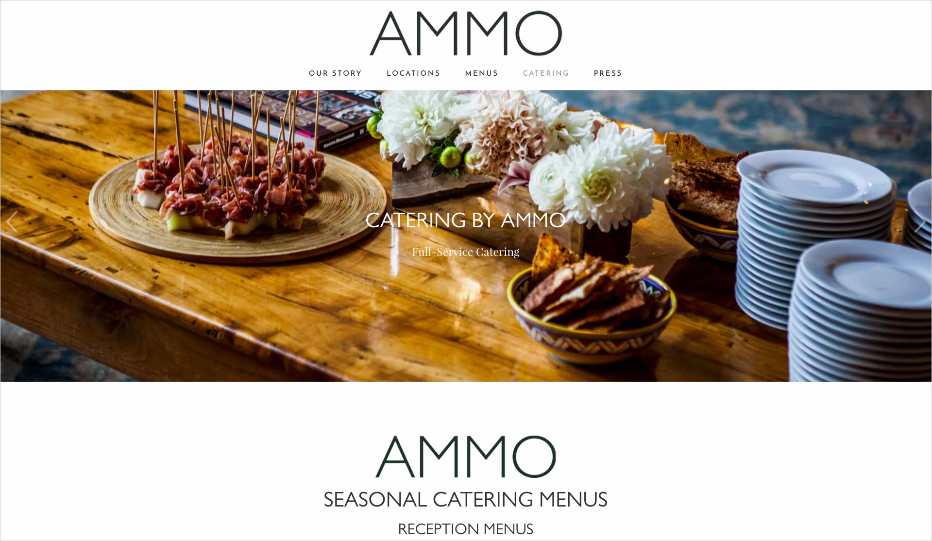ammo catering