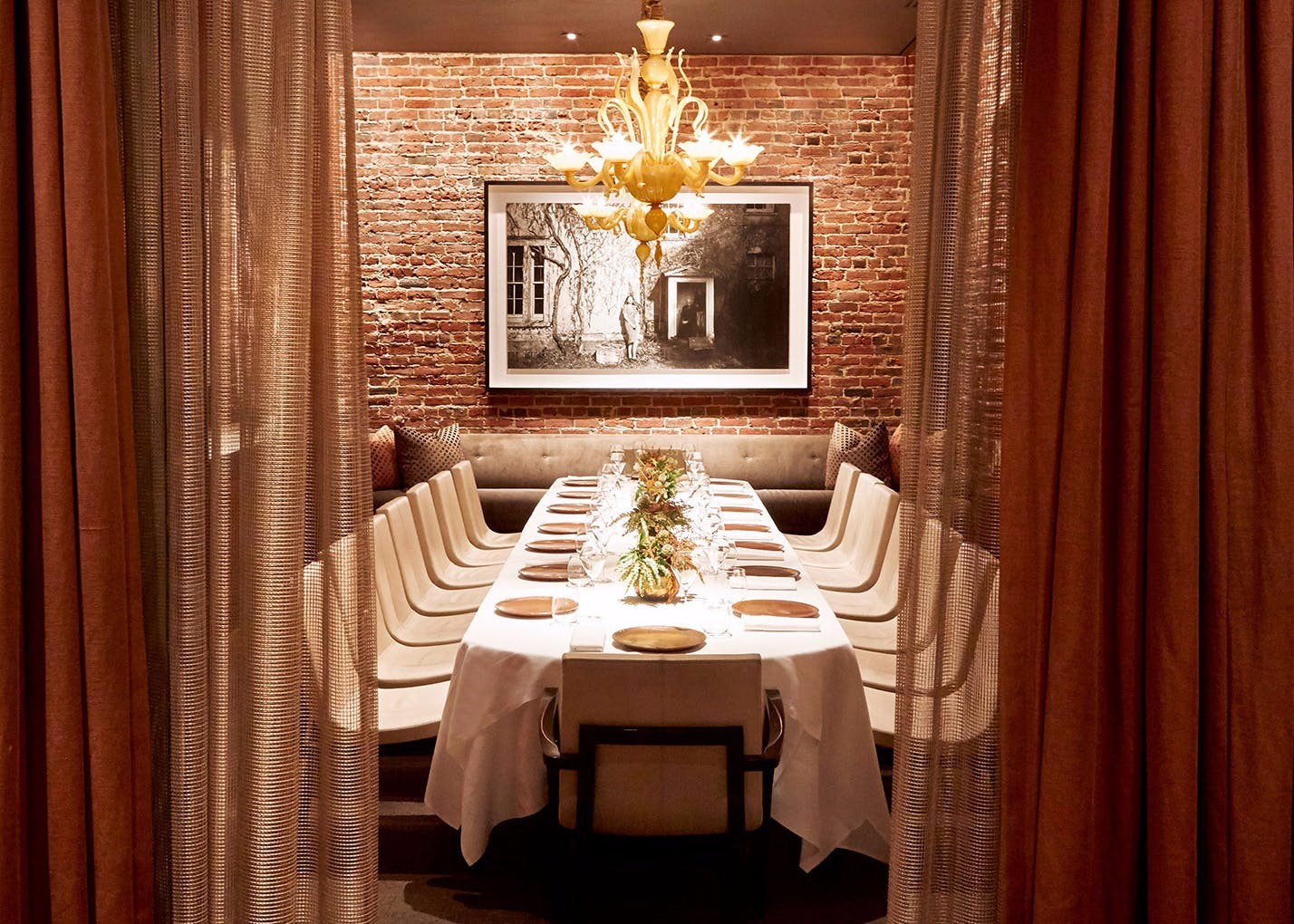 quince restaurant private dining room