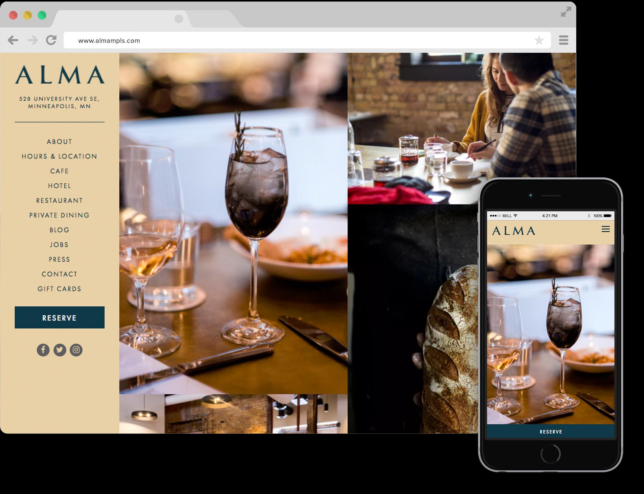 laman web restoran | Tavernify