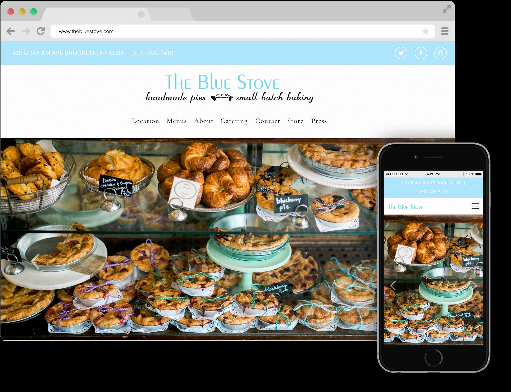 blue stove bakery bk