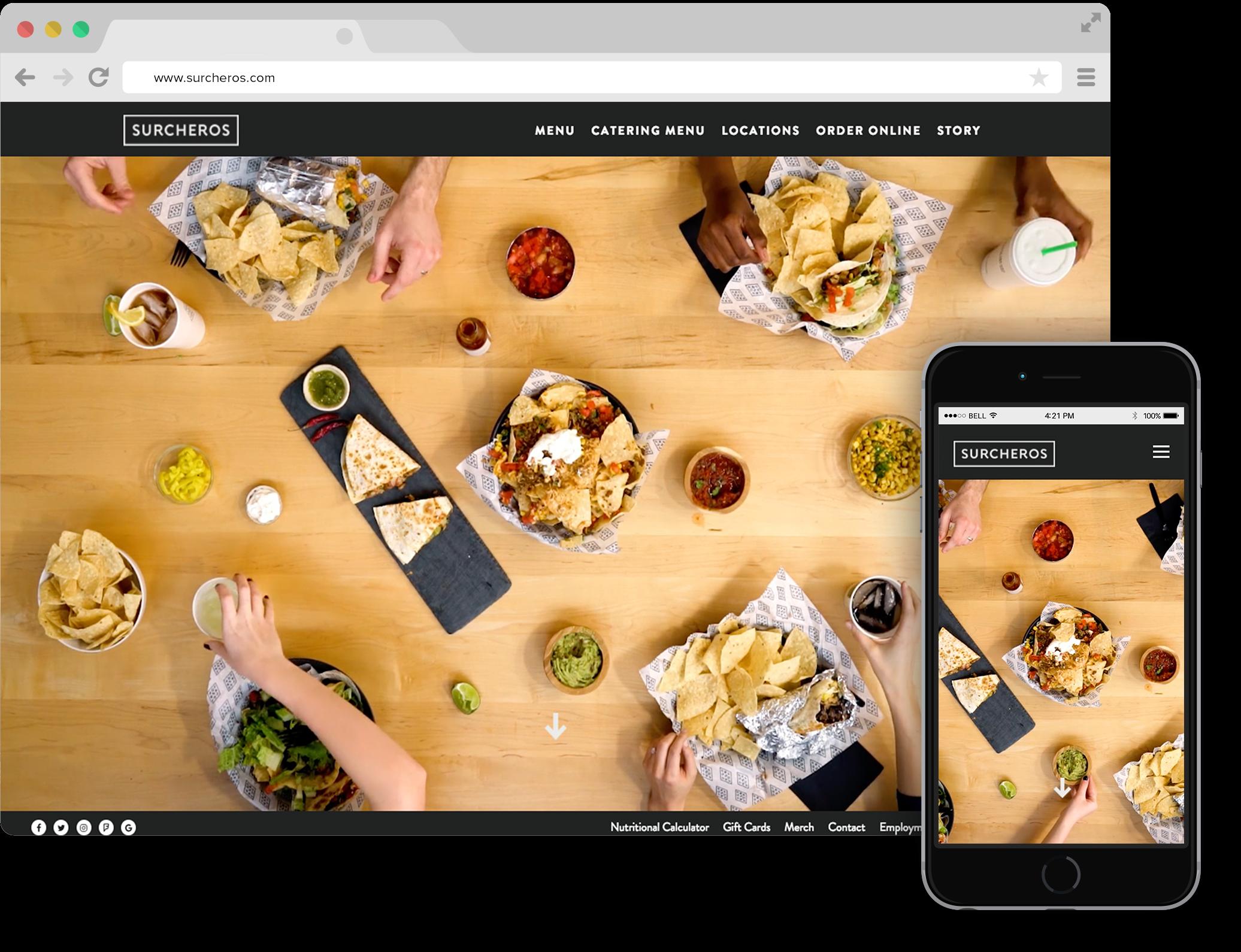 Best Restaurant Websites Of 2017 Bentobox