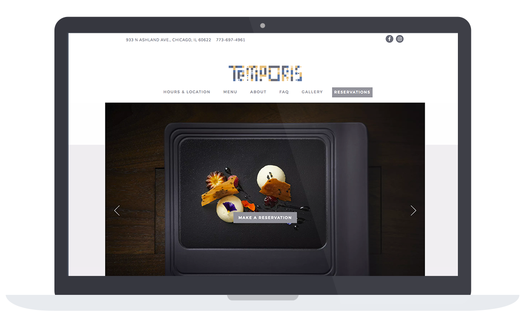 Temporis Website