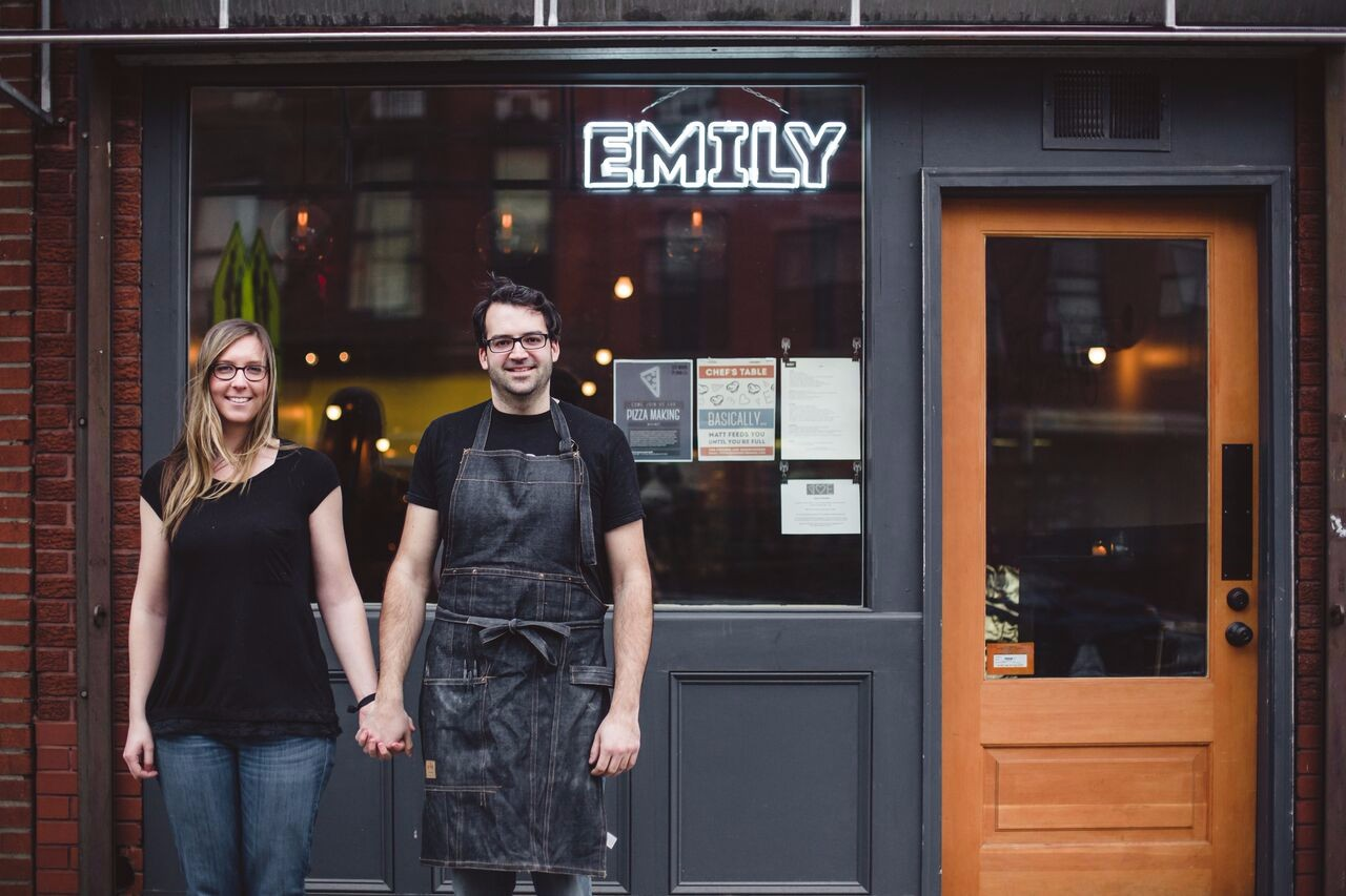 Matt & Emily Hyland, chef/owners of EMILY