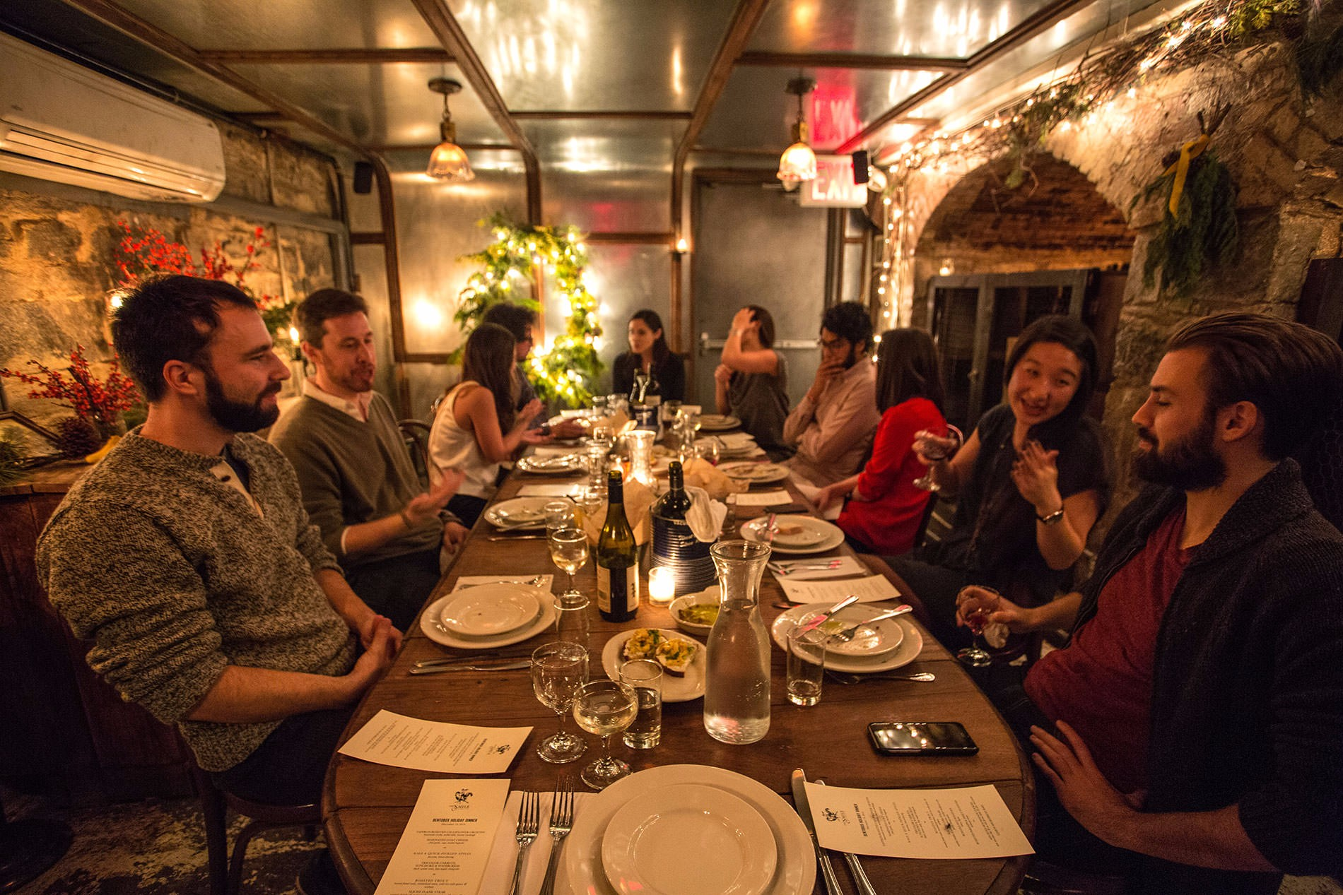 private dining at the smile