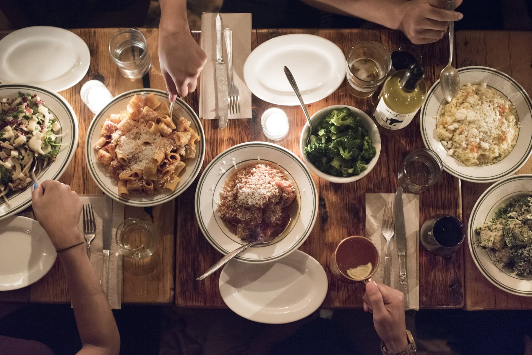the meatball shop food family style