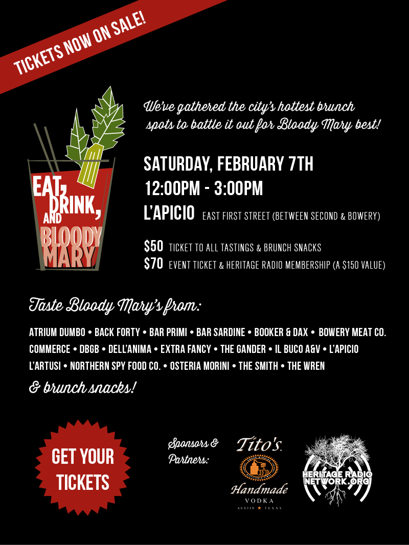 Fourth Annual Eat, Drink & Bloody Mary