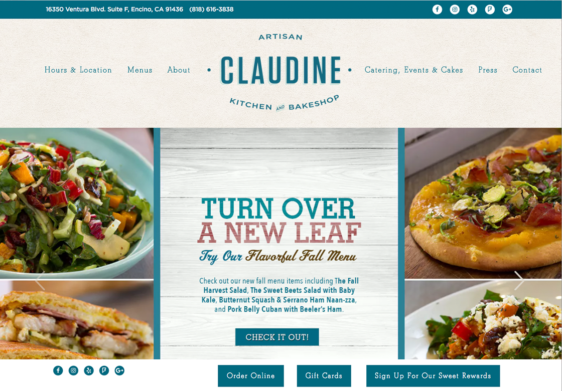 Claudine Artisan Kitchen & Bakeshop