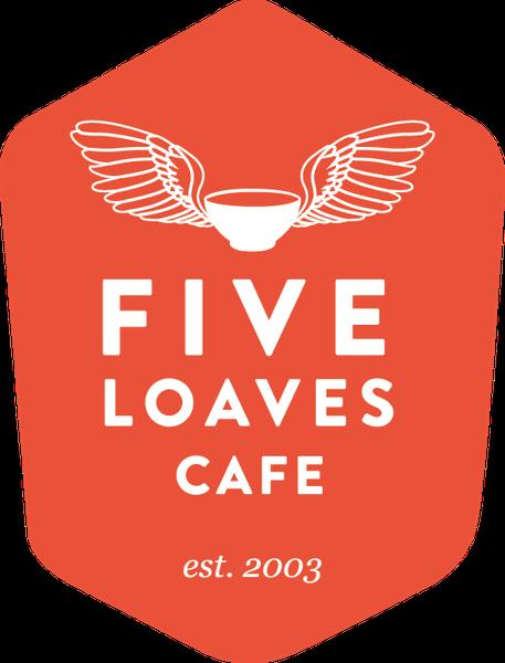 Five Loaves Cafe Dinner Menu